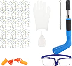 Angoily 1 set geluiddemper nagelgrijper spijkergereedschap kit multifunctionele muurbevestiging tool hand rechte muurbeves...