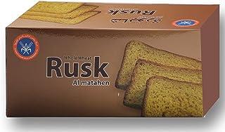 Kuwait Flour Rusk Whole Wheat 300 Gm
