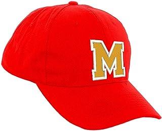 Romens Ltd Ragazzo Ragazza Rosso Cappellino da Baseball Lettera dell'alfabeto Cappello Protezione Solare