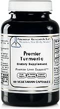 Premier Turmeric, 60 Capsules, Vegan Product - Premier Quality Turmeric for Premier Liver Support