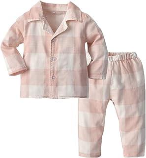 Toddler Baby Boys Girls Pajamas Unisex Baby Kids Cotton...