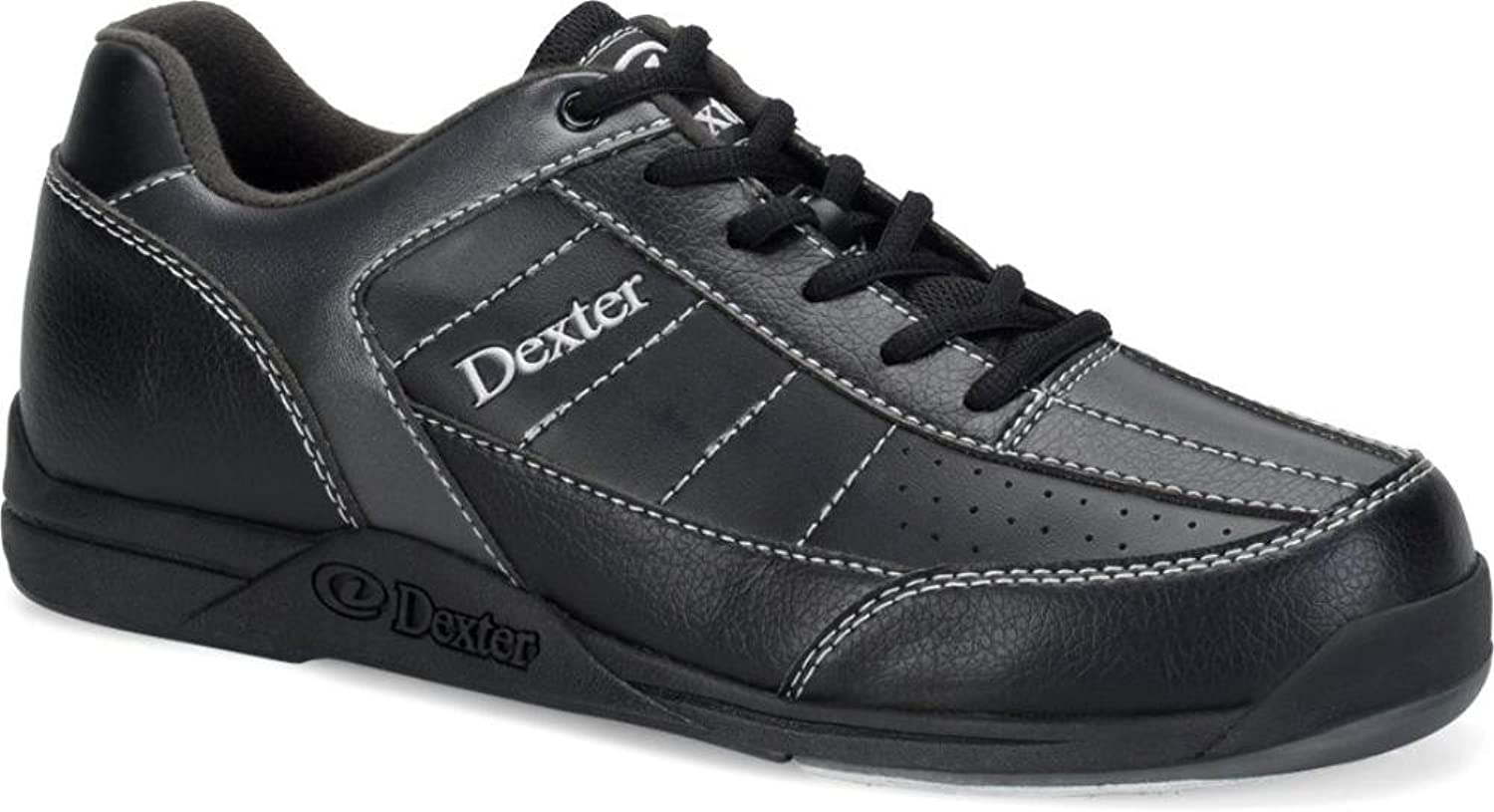 Dexter Men's Ricky III Bowling shoes Black Alloy