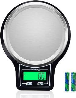 Balance de Cuisine 5Kg/ 0,1g[Mise à Niveau], Diyife Haute PréCision Balance Alimentaire Électronique, Plateforme En Acier ...