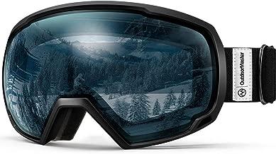 OutdoorMaster OTG Ski Goggles – Over Glasses Ski/Snowboard Goggles for Men, Women..