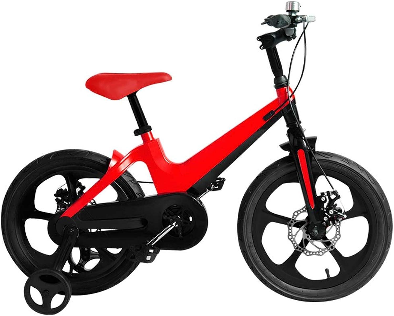 nuevo estilo Axdwfd Infantiles Bicicletas Bicicletas para Niños Niños Niños de 16 Pulgadas, Bicicletas para Niños con Volante de Entrenamiento para Niños de 4 a 8 años de Edad y Rojo  tomar hasta un 70% de descuento