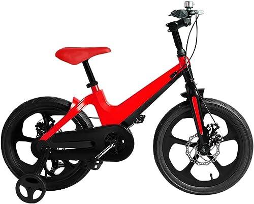El nuevo outlet de marcas online. Axdwfd Infantiles Bicicletas Bicicletas para para para Niños de 16 Pulgadas, Bicicletas para Niños con Volante de Entrenamiento para Niños de 4 a 8 años de Edad y rojo  estilo clásico
