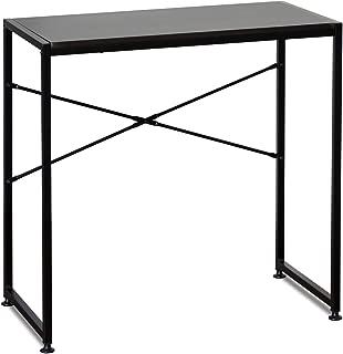 FURINNO Besi Metal Frame Table, Espresso
