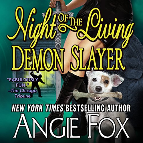 Night of the Living Demon Slayer audiobook cover art