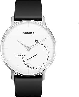 Nokia Activité Steel Activity Tracker Smartwatch, Black/White