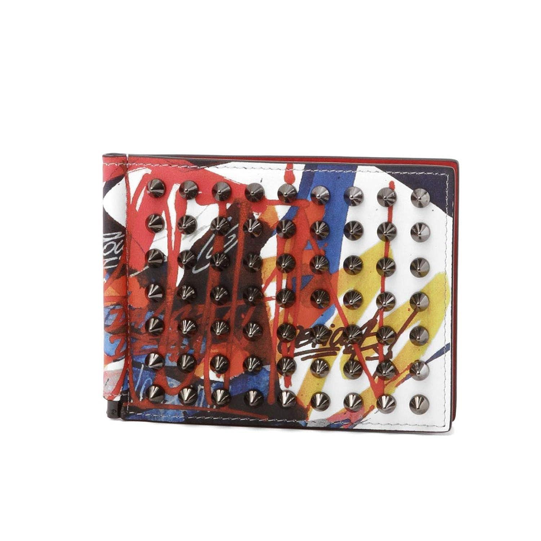 (クリスチャン ルブタン) Christian Louboutin 二つ折り財布 CLIPSOS マルチカラー 1195092 H588 [並行輸入品]