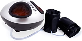 InstaShiatsu Heated Foot Massager - truMedic IS-4000 - Stress + Tension Relief - 3 Modes + 3 Intensity Settings