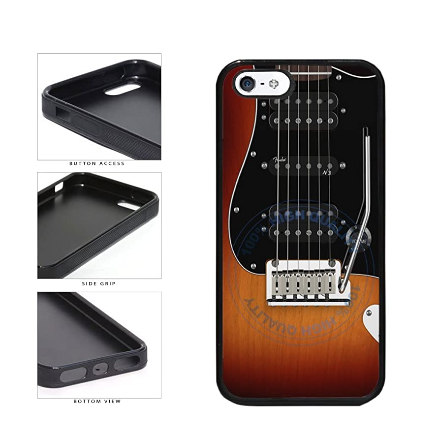 BleuReign(TM) Detailed Guitar Strings TPU RUBBER SILICONE Phone Case Back Cover For Apple iPhone 5 5s