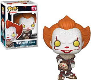 Funko 40629 POP! Movies Pennywise Exclusive Vinyl Figure #779 [with Beaver Hat], Multicolour