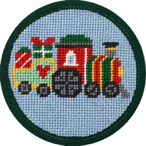 Alice Peterson Stitch-Ups Needlepoint Ornament Kit - Train