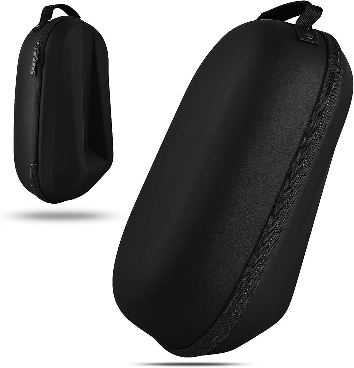 VISOOM Fashion Hard Carrying Case for Oculus Quest 2 Headset and Touch Controller Accessories with Large Space(Black)