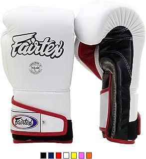 Fairtex Stylish Angular Sparring Gloves BGV6 Color: Black Red Yellow White Orange Marina Blue Size: 12 14 16 oz.
