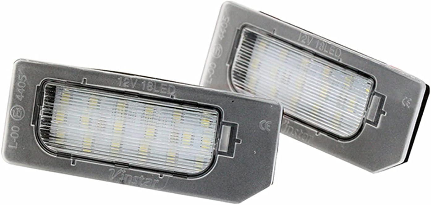 Plate Light 2Pcs Set New LED Manufacturer OFFicial Max 68% OFF shop for Mitsubishi A Lamp License