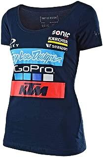 Troy Lee Designs Womens 2017 KTM Team LIC Short-Sleeve Shirt