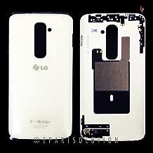 ePartSolution-LG Optimus G2 D800 D801 D802 T-Mobile LOGO White Rear Back Cover Battery Door Housing Replacement Part USA Seller
