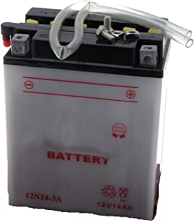 Jardiaffaires 12N14-3A - Batería para cortacésped autoportada, moto, nieve, lista para usar