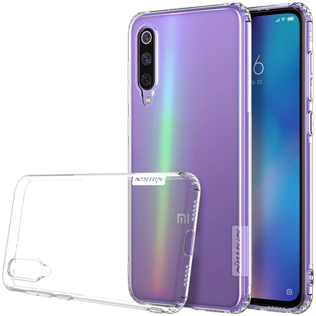 Xiaomi Mi 9 SE Case,Xiaomi Mi 9 SE Soft Back Cover,OPDENK - Nillkin Transparent Thin Soft TPU Case Clear Back Cover for Xiaomi Mi 9 SE,Clear White