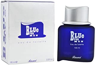 Rasasi Perfume  - Blue by Rasasi - perfume for men- Eau de Toilette, 100 ml