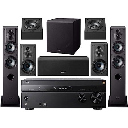 Sony - Juego de altavoces, Receiver w/ Complete System
