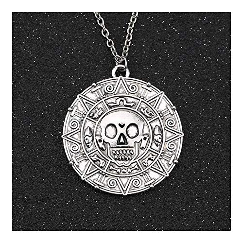YUNGYE Pendant Jack Collar Colgante de la Vendimia (Metal Color : Antique Silver Plated)