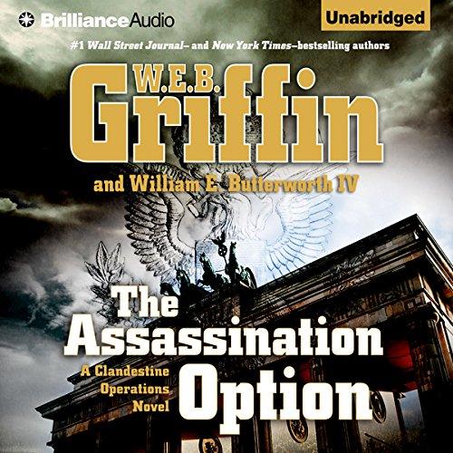 The Assassination Option audiobook cover art