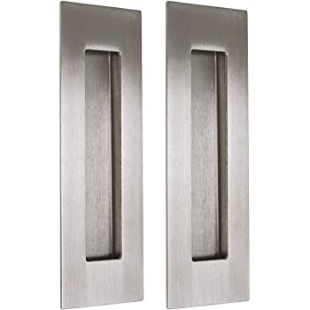 UOOOM Lot de 2 pcs Poignées Encastrées pour Porte Coulissante Inox Sliding Door Handles: Amazon.es: Deportes y aire libre
