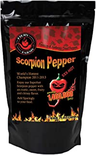 Dry Trinidad Scorpion Butch T Flakes | Crushed Trinidad Scorpion Peppers (2oz)