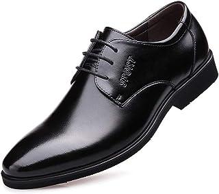 [PIRN] 紳士靴 営業マン メンズ ビジネスシューズ 衝撃吸収 足痛くない レースアップ 歩きやすい ストレートチップ 足ムレ防止 普段用 男性用 消臭 ファッション メンズ靴 通気性 高級レザー 就活 通勤 革靴 通気快適