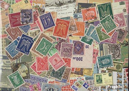 Prophila Collection Deutsches Reich 50 Verschiedene Marken aus den Jahren 1872 bis 1932 mit Nebengebieten (Briefmarken für Sammler)