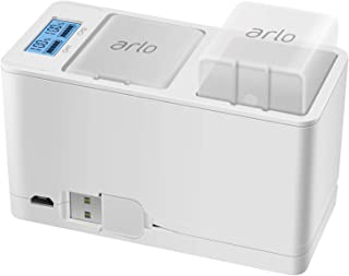 Feirsh Battery Charger Station for Arlo, Dual Rechargeable Batteries Charging Station Compatible for Arlo Pro/Pro 2/Go Cam...