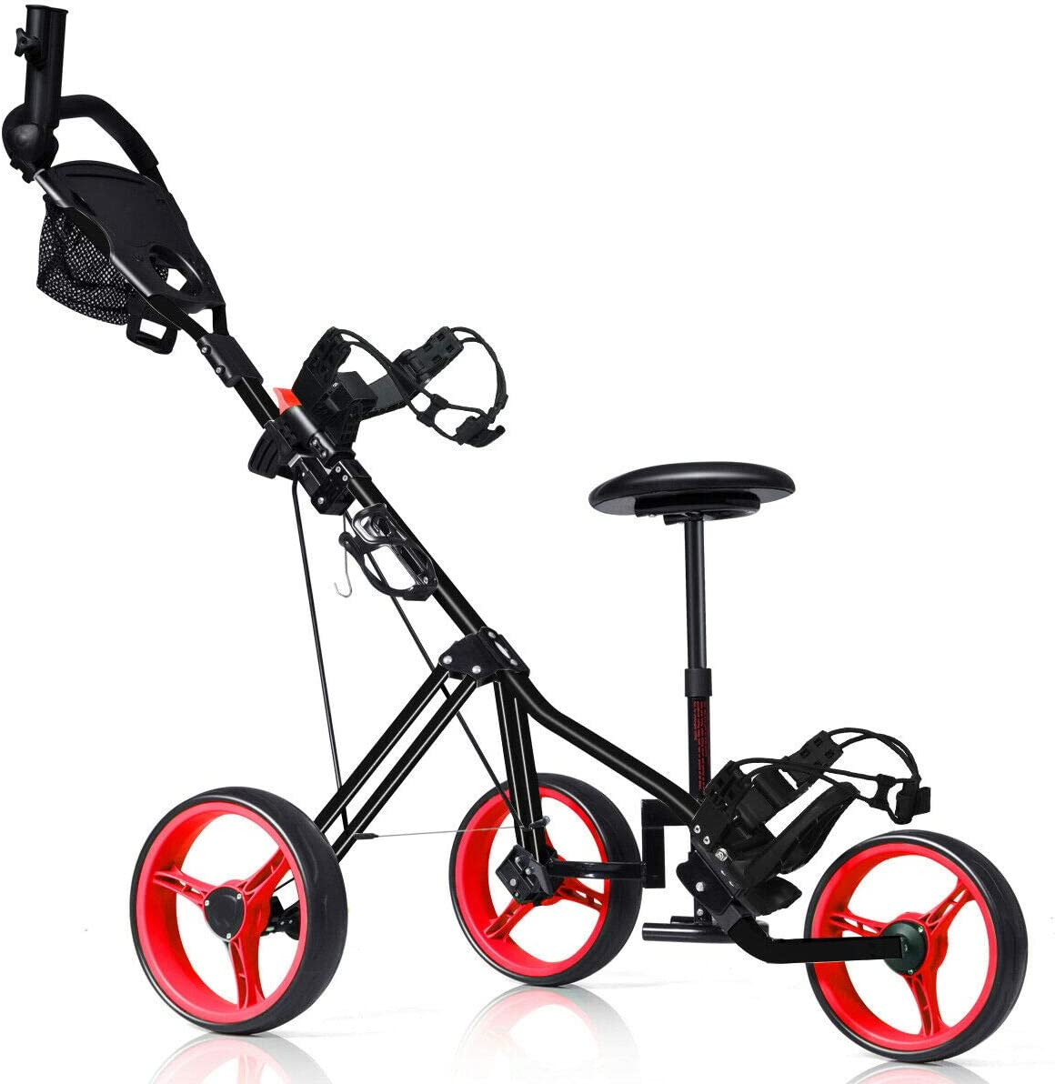 n-bright Design Lightweight Golf Club Wh Factory outlet Genuine Cart 3 Trolley Foldable