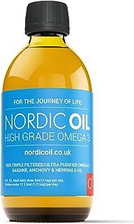 Nordic Oil Aceite de Pescado Omega 3 de Alta Resistencia