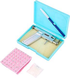 SOLUSTRE Professional Ear Piercing Gun Tool Set Ear Studs Steel Ear Nose Navel Body Piercing Gun Tool Kit Safety Piercing ...
