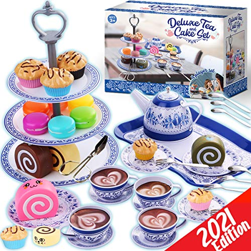 Little Girl Cheffun Tea Party Set