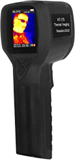 Hti HT-175, Infrared (IR) Thermal Imager/Gun/Detector with IR Resolution 1024 Pixels & Temperature Range from -4~572°F, 6Hz Refresh Rate