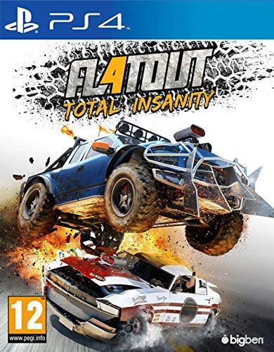 professionnel comparateur Jeux PQube PS4 – FlatOut 4, Total Insanity (français, sans garantie) choix