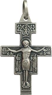 Croce di San Damiano in Argento 925 millesimi - 925 Sterling Silver Saint Damiano Crucifix