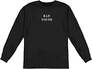Men's R.I.P. Youth Long Sleeve Black
