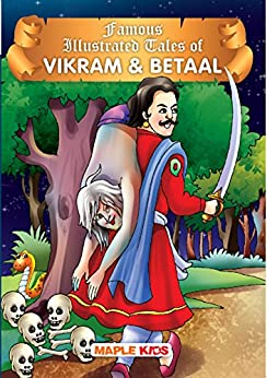Vikram And Betaal (Illustrated) by [Maple Press]