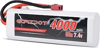GARTPOT 2S 7.4V 4000mAh 50C Lipo Akku mit Deans Stecker für RC Car RC Truck RC Boot RC Hobby RC Quadcopter