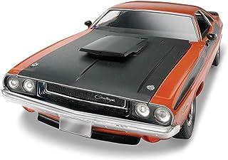 Revell 12596 70 Dodge Challenger 2 'n 1 detaljerad modellsats, bilsats 1:24