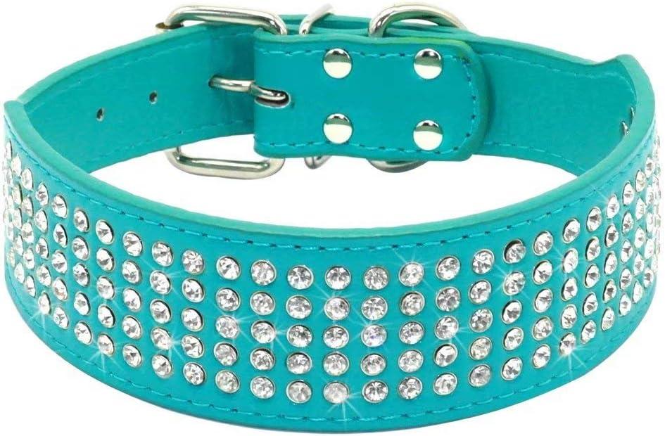 Beirui Rhinestones Dog Collars