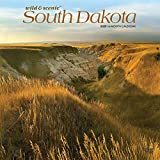 South Dakota Wild & Scenic 2020 12 x 12 Inch Monthly Square Wall Calendar, USA United States of America Midwest State Nature