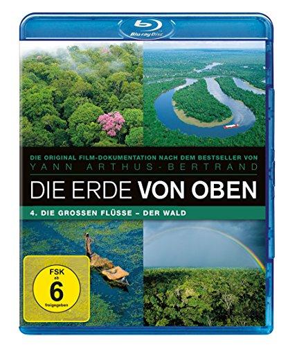 Die Erde von Oben - TV Serie Teil 4: Die großen Flüsse, Der Wald [Blu-ray]