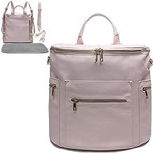 blush diaper bag backpack
