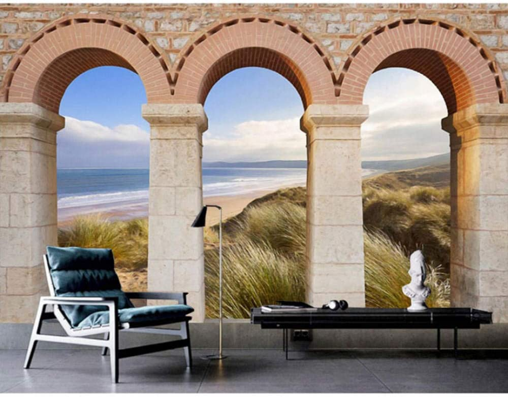 Europe Wall Papers 3D Vintage Wallpaper Photo Brick famous Arches Max 89% OFF